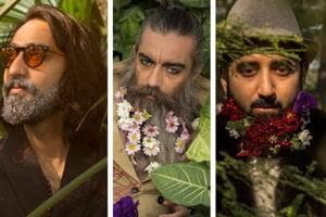 We got designer Gaurav Khanijo, actor Daljit Sean Singh and florist Abhishek Kaushik together to celebrate the  beard month in the most fabulous way and the results are a treat to the eyes.