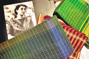Power dressing: Exhibition-cum-sale of Indira Gandhi inspired saris