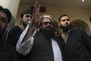 US calls on Pakistan to arrest Hafiz Saeed, freed yesterday