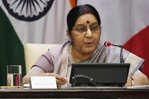India committed to open, safe and democratic internet: Sushma Swaraj