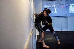 Photos: As MMA gains ground in China, 'supermom' Miao Jie...