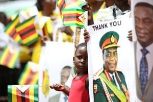 Zimbabwe's new President Mnangagwa vows to rebuild country, serve all...