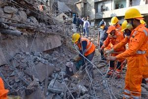 Photos | Ludhiana factory collapse: Owner arrested, 3 firefighters...
