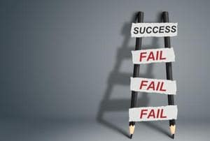 Random Forays: Failure is an impostor to learn from