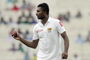 Sri Lanka pacer Dasun Shanaka fined for ball tampering in 2nd Test vs...