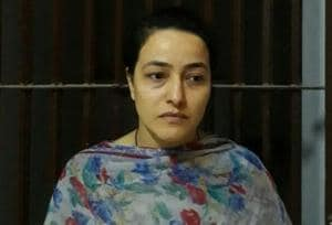 Honeypreet went into hiding for 38 days before her arrest on October 4 from the Zirakpur-Patiala highway.