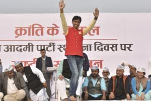 Expressing his grudge, Kumar Vishwas said he was not provided a chance to speak in the last few months.