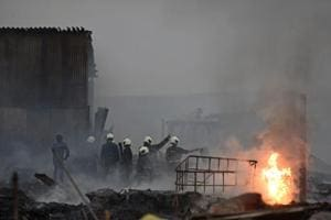 Blaze in Mumbai guts 22 scrap shops with oil and planks, doused in 5...