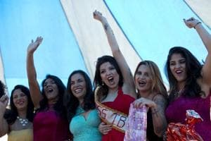 Photos: Beauty pageant for female inmates held in Brazil prison
