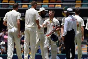 Ashes 2017-18: Australia romp home to 10-wicket win in Gabba fortress
