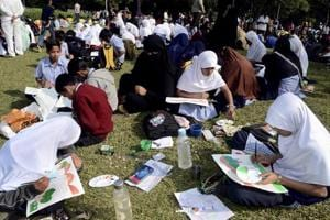 Caring in full colour: Painting competition for Pune schoolchildren to...