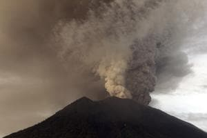 Thousands stranded at Bali airport as volcano alert raised to highest...