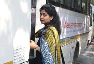 An app based bus service has collaborated with Delhi Police to provide a safe medium of travel to Delhi women.