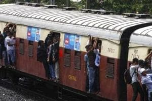 Stray dog enters women's train compartment; GRP, RPF thrash it thrice...