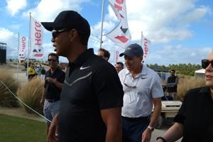Tiger Woods is making his comeback from injury at the Hero World Challenge.