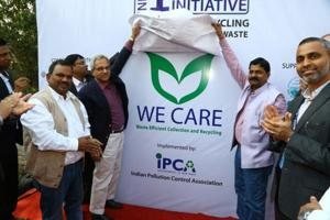The NGO, Indian Pollution Control Association, will assist in collection and segregation of non-recyclable  (including multi- layered plastic or printed plastic) with the support of waste-pickers.