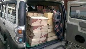 370 cartons of liquor recovered in dry Bihar's Muzaffarpur;  2...