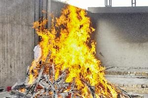 Woman's cremation halted mid-way after death found unnatural