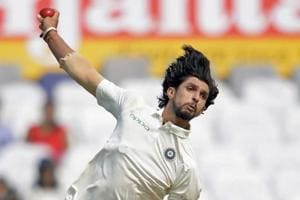 Ishant Sharma picked a total of five wickets in the second Test against Sri Lanka in Nagpur.