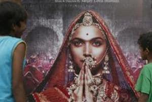 A poster of Sanjay Leela Bhansali's movie