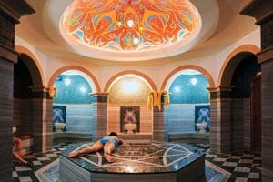Many Parisians have the habit of visiting hammams, the Turkish public baths.
