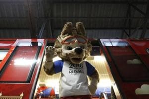 FIFAWorld Cup 2018 official mascot Zabivaka unveiled