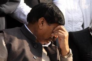 Shivpal Yadav, younger brother of Samajwadi Party chief patron Mulayam Singh Yadav and uncle of the party's national president Akhilesh Yadav.