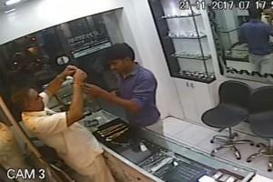 Man enters jewellery shop in Mumbai, flees with gold chains worth...