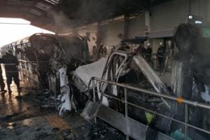 Three weeks after fire, Mumbai monorail still shut; services to resume...