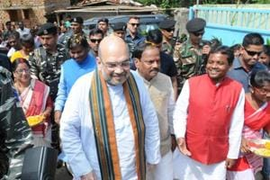 In September, BJPchief Amit Shah visited Jharkhand and laid the foundation for the construction of houses at Ulihatu, the birthplace of tribal leader Birsa Munda.