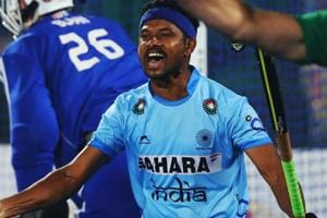 Birendra Lakra is one of the three players from Odisha in the Indian men's national hockey team.