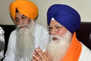 SGPC president Kirpal Singh Badungar (right)earned wrath for the party high command for not accepting to function the way they wanted.