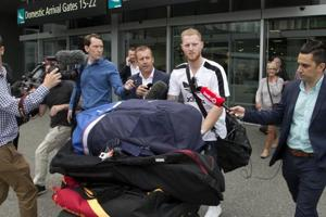 Ben 'stokes' confusion as he arrives in New Zealand amid...