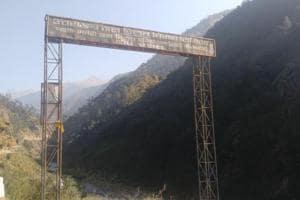 Stalled hydro power project Pala Maneri in Bhagirathi Eco Sensitive Zone in Uttarakhand.