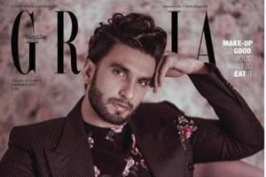 'Starboy' Ranveer Singh looks dapper in a pink bathtub on the cover of...