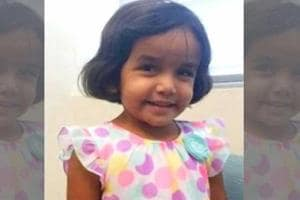 Sherin Mathews, three-year-old Indian-American died last month  showed...