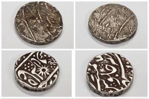 ASI offcials told the Noida police that many of the coins and utensils were over 2,000 years old and were sourced fromMadhya Pradesh.