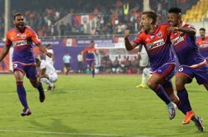 Striker Emiliano Alfaro scored two goals as FC Pune City came back...