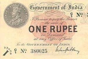 The humble Rs1 currency note turns 100 today