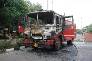 The violence at Panchkula claimed nearly 40 lives soon after the dera head's conviction on August 25.