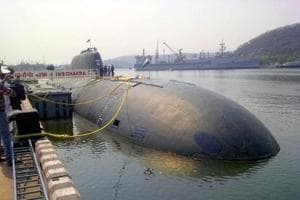 India's only nuclear-powered sub INS Chakra suffers damage