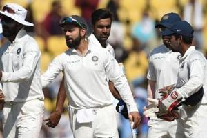 India currently sit atop the ICC Test rankings.