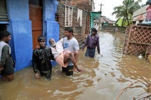 Photos: 8 dead as cyclone Ockhi hits Kerala and TN, headed to...