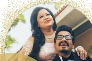 Bharti Singh, Harsh Limbachiyaa begin their Goa wedding celebrations...