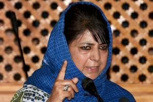 Jammu and Kashmir Chief Minister Mehbooba Mufti was elected unopposed as PDPpresident in Jammu on Saturday.