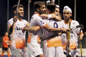India face Germany in their final Group B game at the Hockey World League Final.