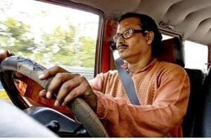 Kolkata-based driver Dipak Das hopes Kolkata will some day become a no honking city.