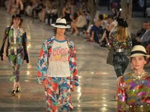 Virtual runway: First of its kind fashion show and auction takes place...