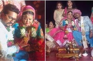 Bharti Singh and Haarsh Limbachiyaa are wife and husband now. See pics...