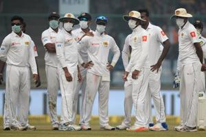 Delhi pollution leaves Sri Lanka cricketers breathless